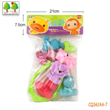 CQS624A-7 CQS soft toys 6PCS and fishing net