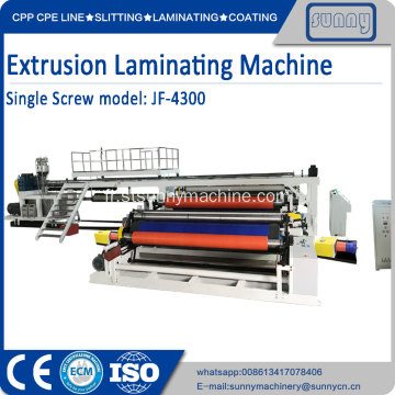 Machine de laminage par extrusion PE PP à 2 côtés