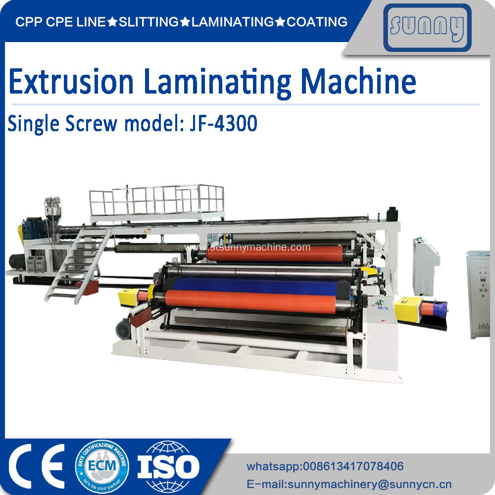 4300 mm Extrusion Lamination Machine