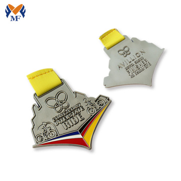Design running racing finisher medals