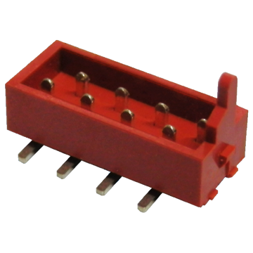 1.27mm Micro match box header SMT connector