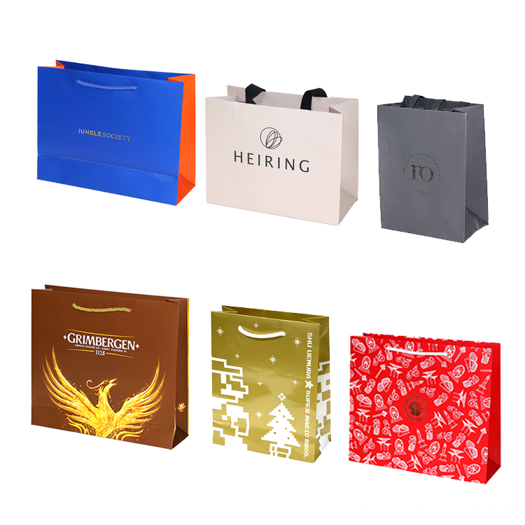 High-end Handle Gift Paper Bag