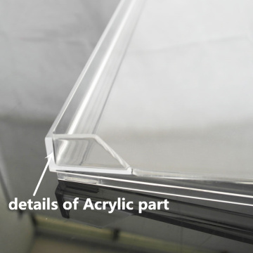 CNC transparent laser cutting acrylic parts prototyping