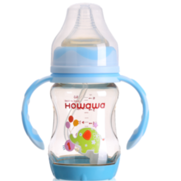 PPSU Milk Infant Nurturing Bottles Heat Sensing 6oz