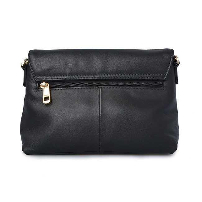 Leather Women Crossbody Shoulder Bag Clutch Bag With Straps