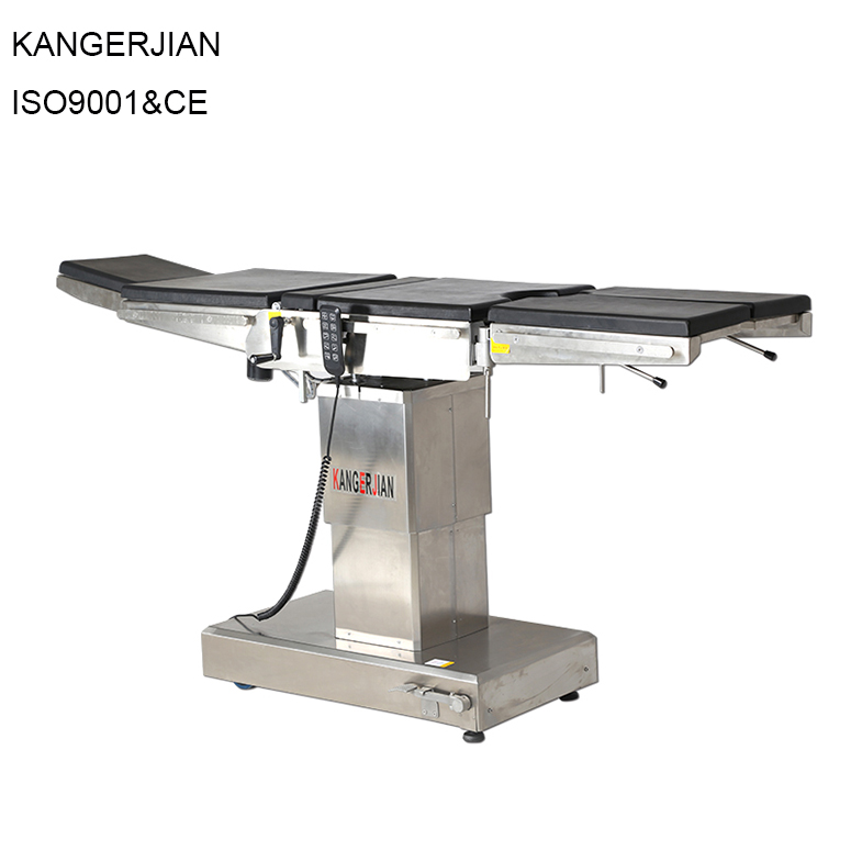 ISO standard motorized operation theater tables