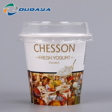 Yoghurt Cup Customized Yoghurt Container with Lid