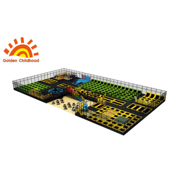 Multiplay rectangle Trampoline Park
