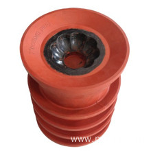 Non Rotating Bottom Top cementing plugs with Locking