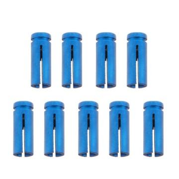 9pcs Professional Aluminum Dart Flights Protector Savers For Darts Accessories Indoor Dartboard Games 4 Colors