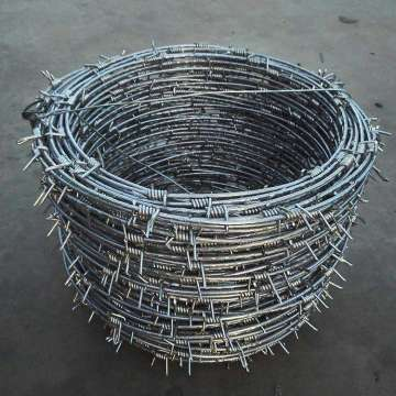 Wholesale Cheap barbed wire roll price fence