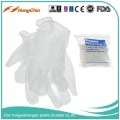 western safety non sterile nature pvc gloves