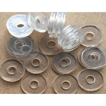 PET PVC Transparent Plastic Washer