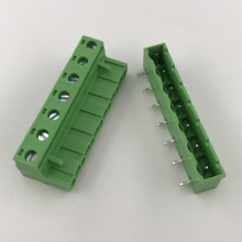 closed side 7pin pluggable terminal block