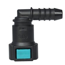 Conductive Quick Connector 9.89 (10) - ID8 - 90° SAE