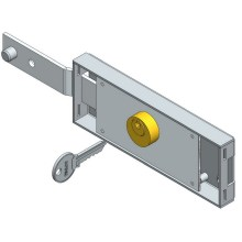 Left Shifted Bolt Roller Shutter Lock