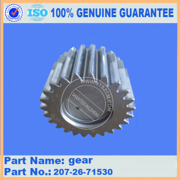 Gear planetary 207-27-71140 for pc300-7 travel gearbox