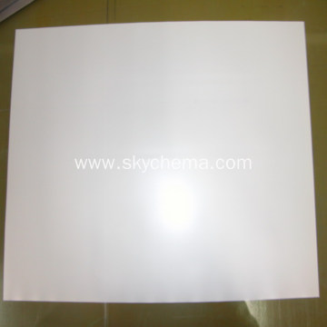 Solvent backlit film for light box
