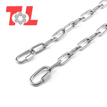 DIN763 Stainless Steel Long Link Chain Grade80