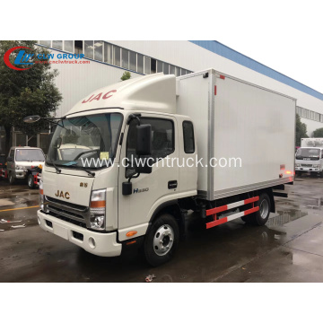 2019 New JAC Vegetable Refrigerator Fruit Storage Truck