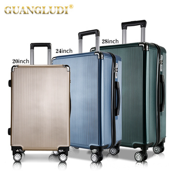 3 pieces trolley travel bag for travelling