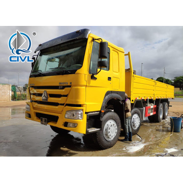 Howo 12 Wheels Heavy Cargo Trucks