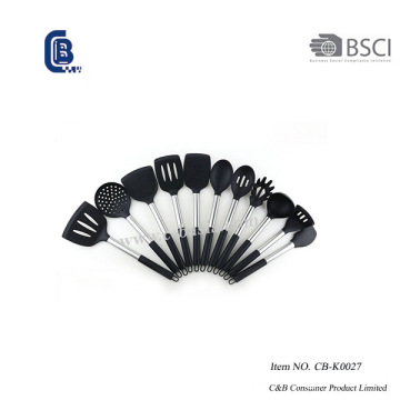 11PCS Silicone Utensils Set with Silicone Handle