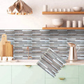 kitchen wall stick vinyl self-adhesive mosaic tiles