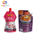 Custom Laminated Food Plastic Spout Stand Up Pouch