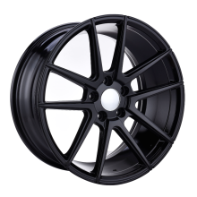 Custom Light Alloy Wheel Flat Black