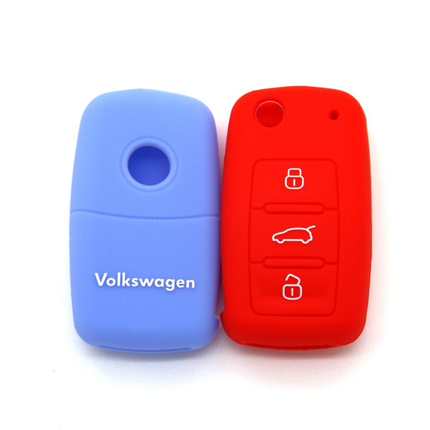 Colorful Key Cover Volkswagen 3