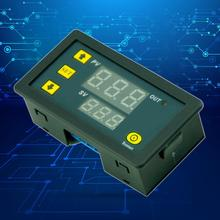 12V Timing Delay Timer Relay Module Digital LED Dual Display Cycle 0-999 Hours Adjustable Power Supplies Mayitr