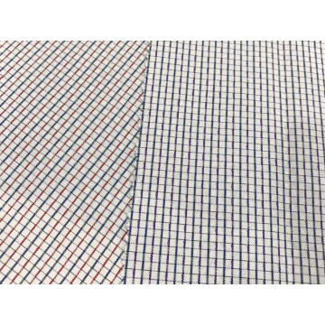 T/C(30%Cotton70%Polyester)Yarn-dyed Dobby Plaid Fabric