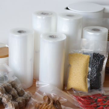 Food saver embossing vacuum sealer rolls