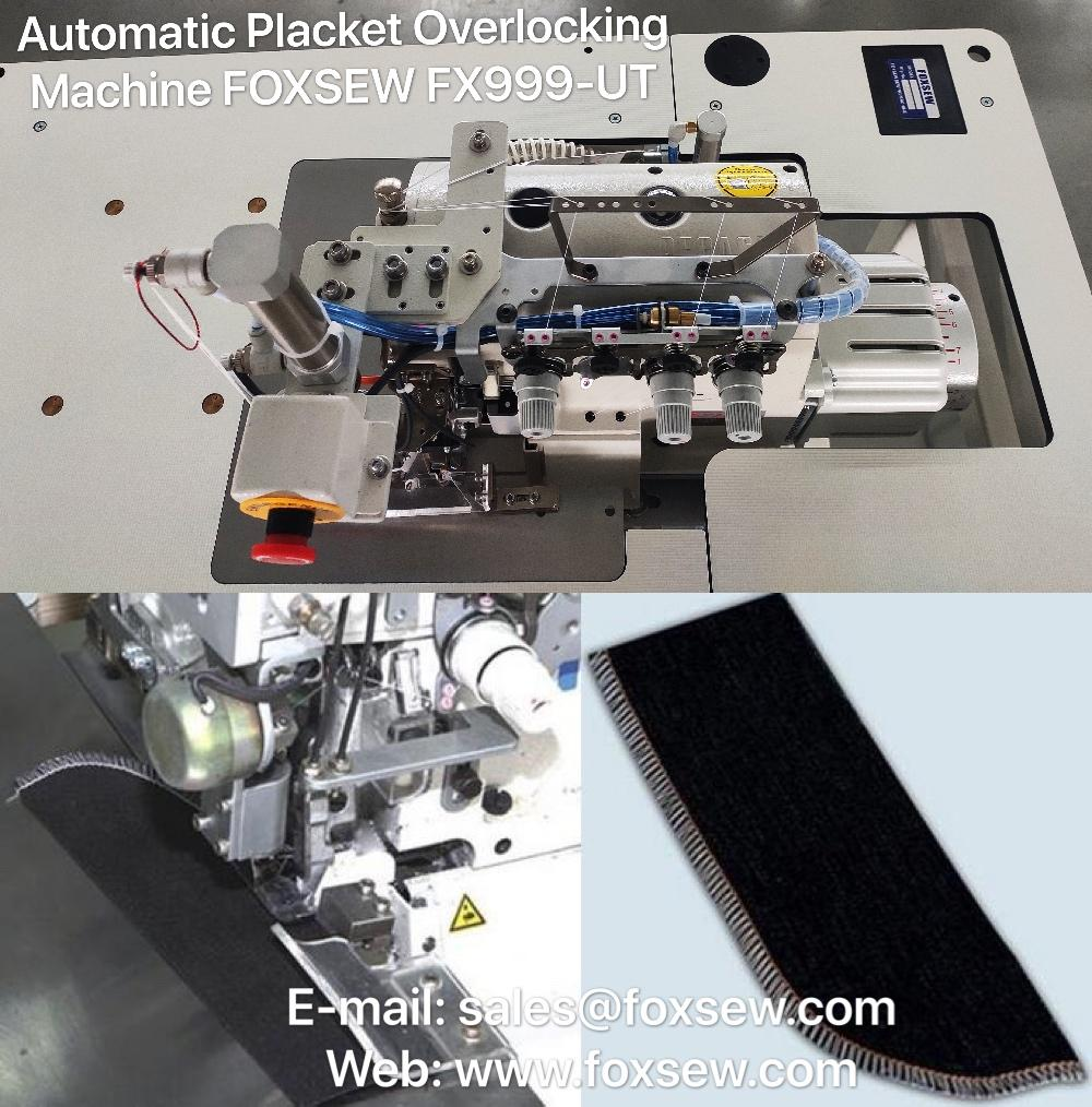 Automatic Placket Serging Machine 1