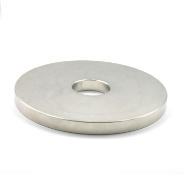Round disc Neodymium magnet with straight hole