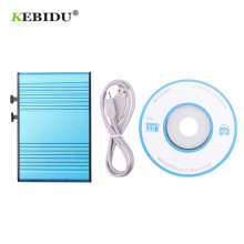 KEBIDU External Audio External Sound Card Usb 6 Channel Audio 5.1S Optical Pdif For Pc Blue Light for Laptop Notebook PC