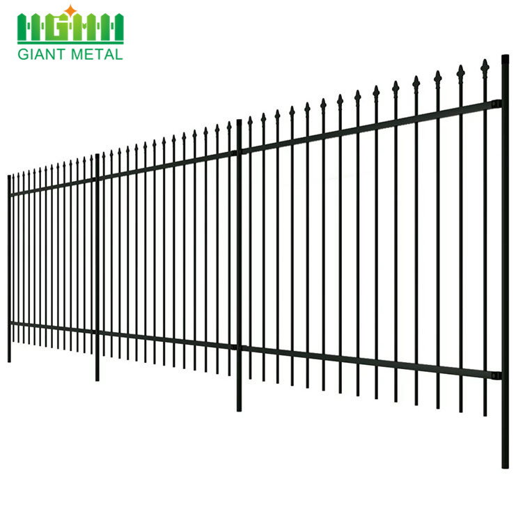Hot Sale Garden Decoration Wrought Iron Fence
