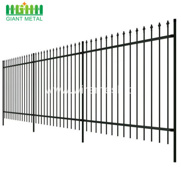 Antique wrought iron fence panels