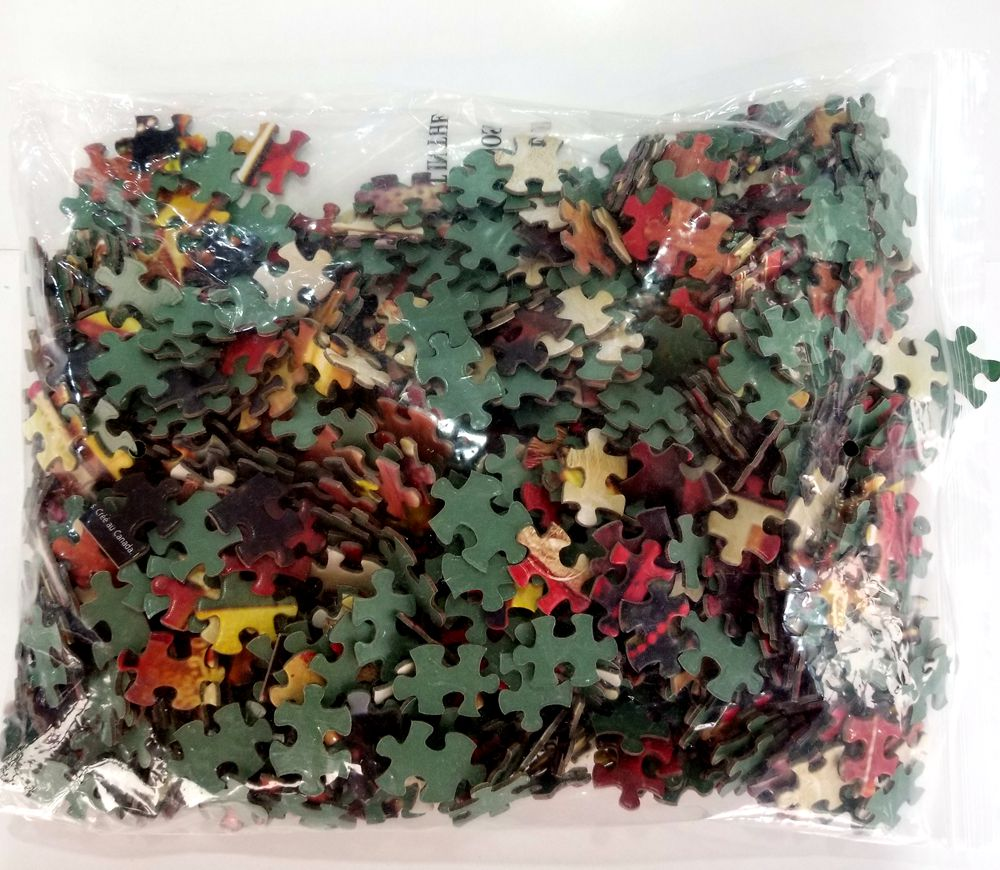 Heap and Beautiful 1500pcs Pzzle