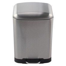 Household Rectangle Soft-Close Trash Can