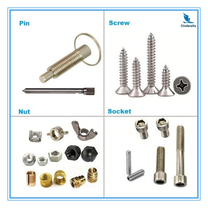 OEM CNC Machined Spare Parts Fasteners