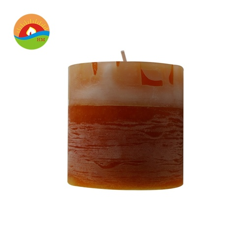 Small size church pillar candle