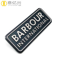 Factory zinc alloy metal name badges wholesale