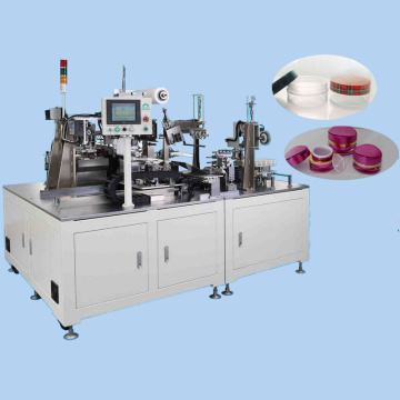 Cosmetic container packing line