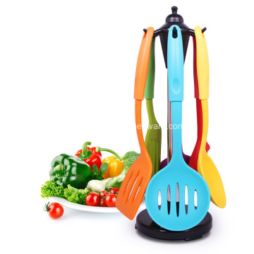 Silicone kitchen tools and cooking utensils