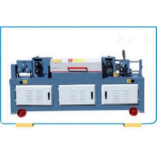 Steel wire straightener and cutter machine