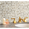 Living Room And Toilets Glass Mosaic Wall Tiles