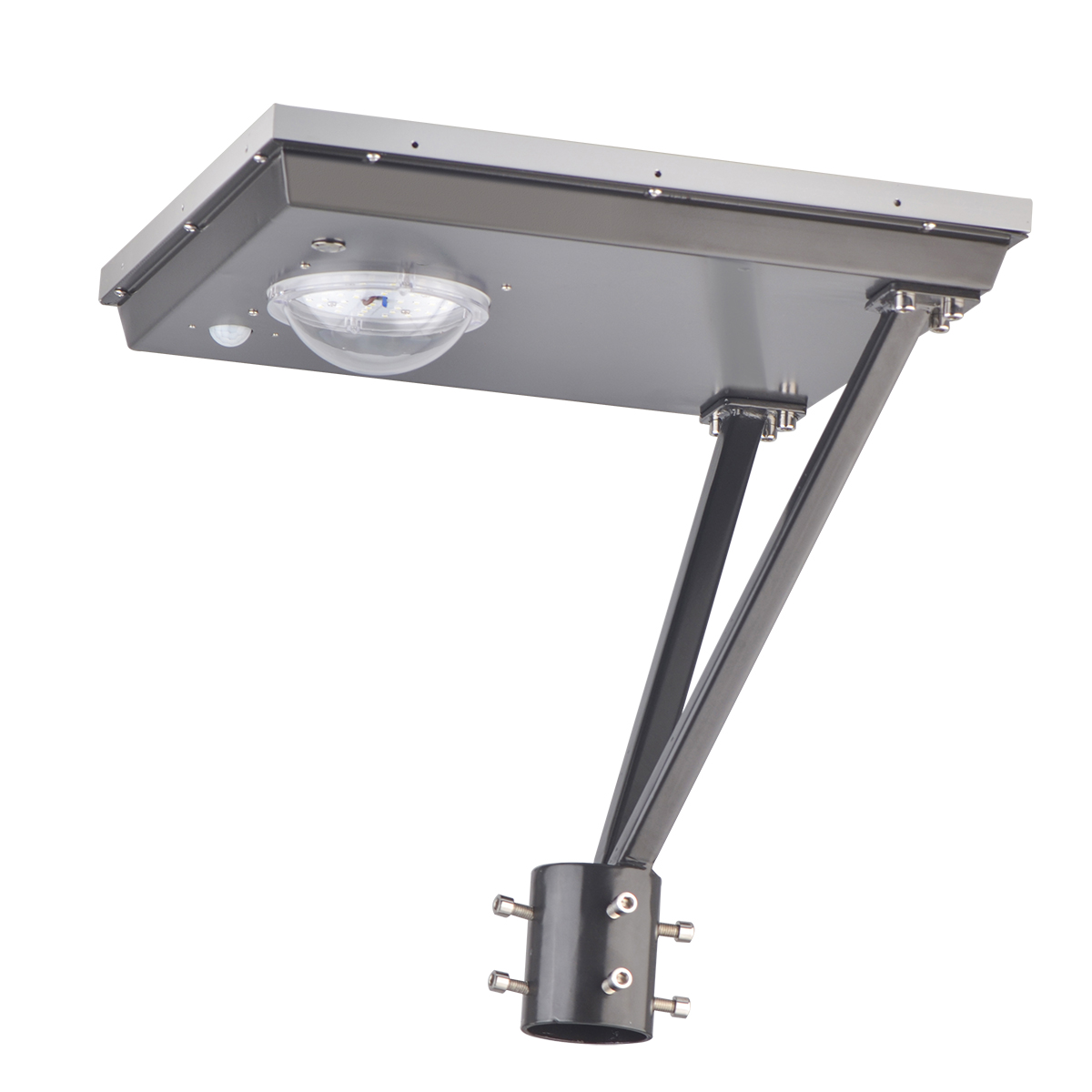 20W Solar Led Post Top Lamps 5000K-1