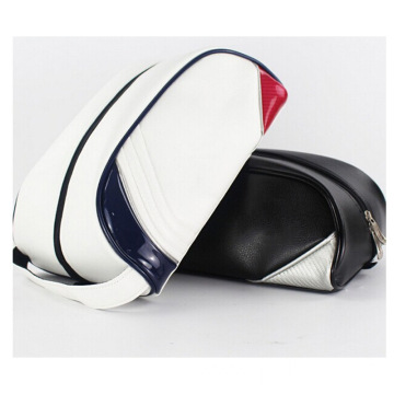 Customized PU Leather Golf Shoes Bag